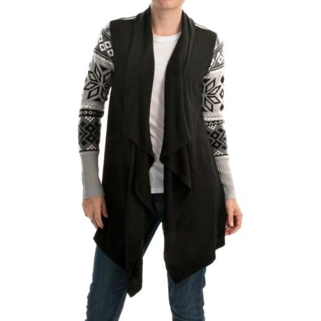 Icelandic Design Karin Cardigan Sweater - Merino Wool (For Women)