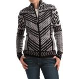 Icelandic Design Remy Cardigan Sweater - Wool, Full Zip (For Women)