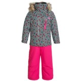 Roxy Paradise Snowsuit - Waterproof, Insulated (For Toddlers and Little Girls)