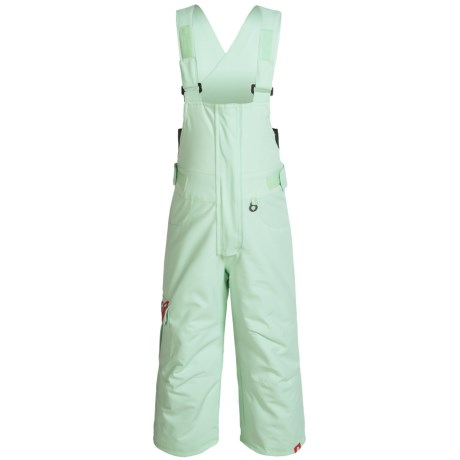 Roxy Lola Snow Bib Pants - Waterproof, Insulated (For Toddlers and Little Girls)