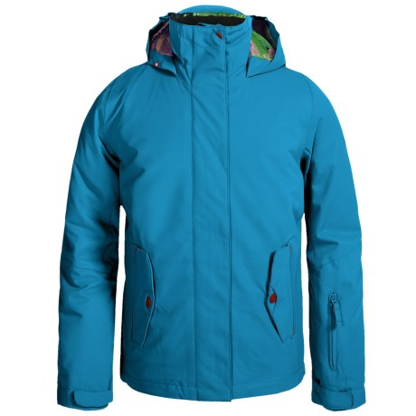 Roxy Jetty Solid Ski Jacket - Waterproof, Insulated (For Big Girls)