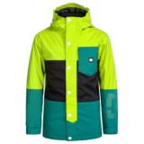DC Shoes Defy Snowboard Jacket - Waterproof, Insulated (For Big Boys)