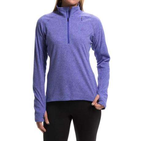 adidas outdoor Reachout Pullover Shirt - Zip Neck, Long Sleeve (For Women)