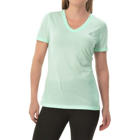 adidas outdoor Ultimate V-Neck Shirt - Short Sleeve (For Women)