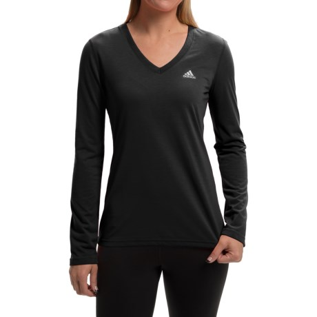 adidas outdoor Ultimate V-Neck Shirt - Long Sleeve (For Women)