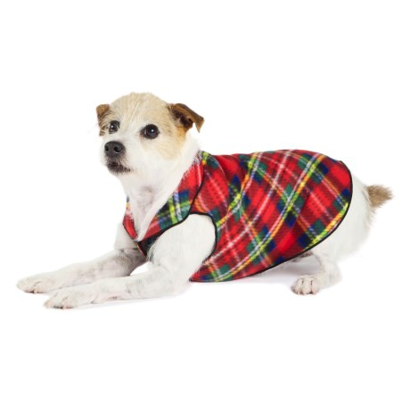 Gold Paw Stretch Fleece Pullover Dog Sweater