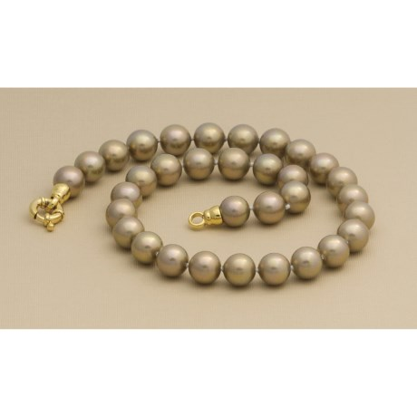 "Joia de Majorca Organic Pearl Necklace - 18"" Strand (For Women)"
