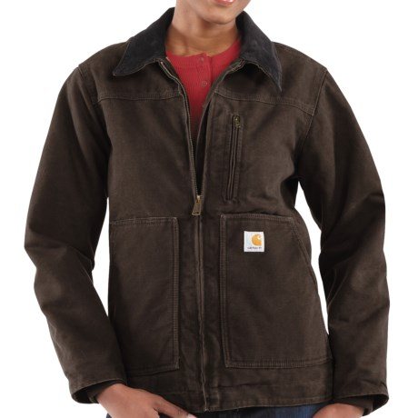 Carhartt Sandstone Ridge Jacket - Sherpa-Lined (For Women)