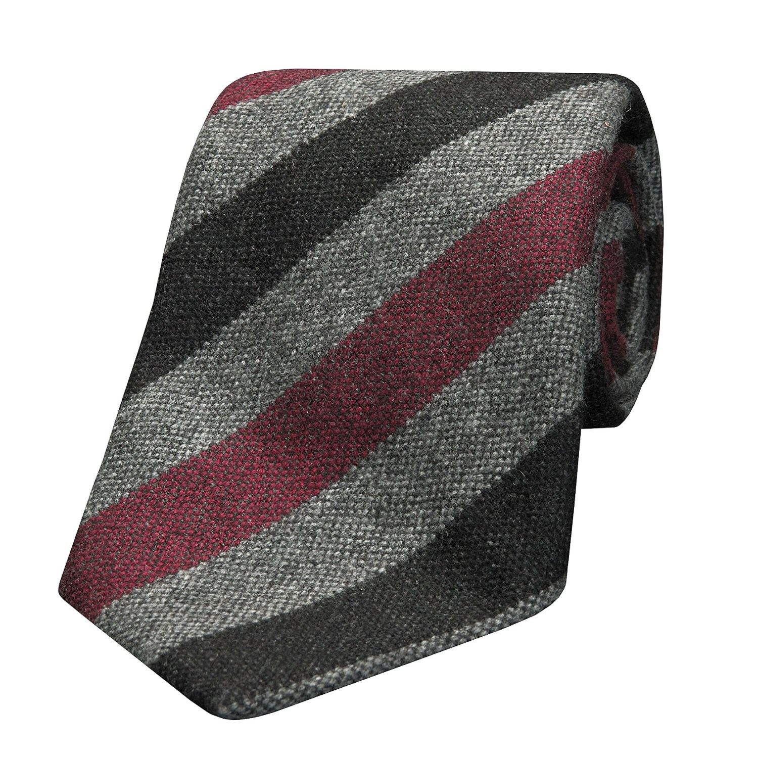 Isaia Tie Isaia Cashmere Seven-fold Tie