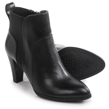 Adrienne Vittadini Trot Ankle Boots - Calfskin Leather (For Women)