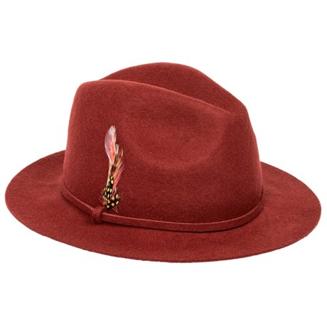 Scala Wool Felt Safari Hat (For Women)