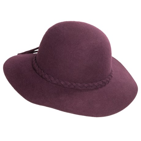 Wool Felt Floppy Hat (For Women)