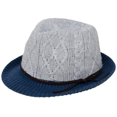 Brooklyn Hat Co . Paris Knit Fedora (For Women)