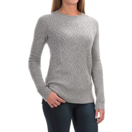 Max Studio Textured Cashmere Sweater (For Women)