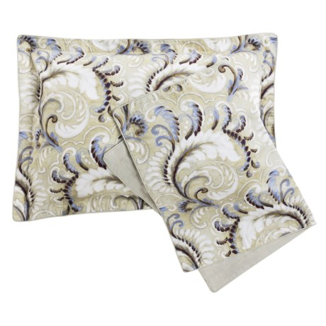 Christy of England Christy Fontaine Cotton Sateen Pillow Shams - Standard, 300 TC