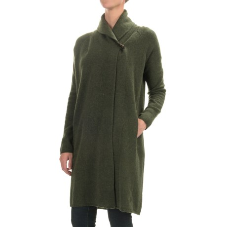 Adrienne Vittadini Wool-Yak Cardigan Sweater (For Women)