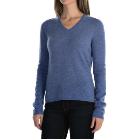 Adrienne Vittadini Cashmere Sweater (For Women)