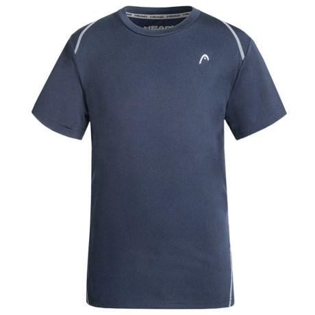 Head Powerhouse Crew Shirt - Short Sleeve (For Big Boys)