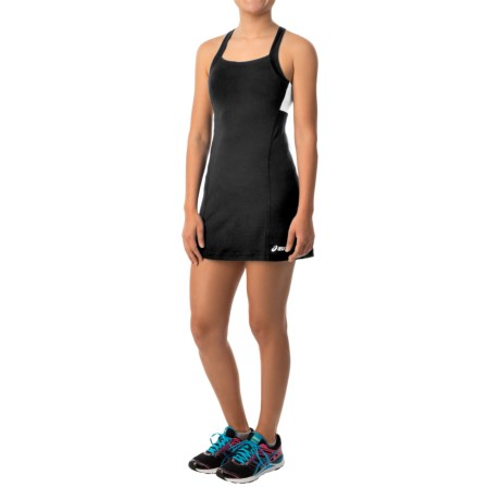 ASICS Rally Racerback Dress - Built-In Shelf Bra, Sleeveless (For Women)