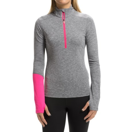 ASICS Thermopolis Pullover Shirt - Zip Neck, Long Sleeve (For Women)