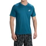 ASICS Club V-Neck T-Shirt - Short Sleeve (For Men)