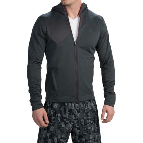 ASICS Training Jacket - Full Zip, Hooded (For Men)