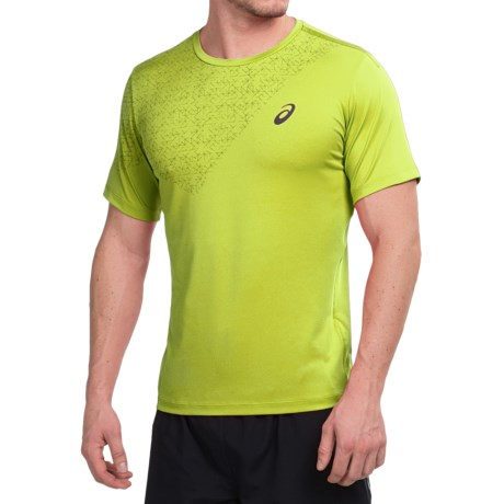 ASICS High-Performance T-Shirt - Short Sleeve (For Men)