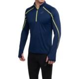 ASICS Lite-Show Shirt - Zip Neck, Long Sleeve (For Men)