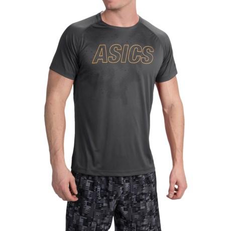 ASICS FujiTrail Graphic Shirt - Short Sleeve (For Men)