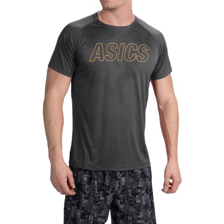 ASICS FujiTrail Graphic Shirt - Short Sleeve (For Men)