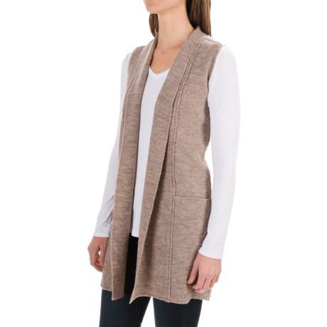 Nanette Lepore Merino Boiled Wool Vest (For Women)