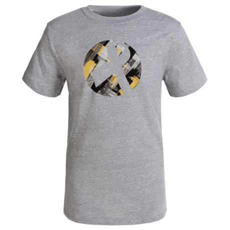 ASICS Gold Ribbon Graphic T-Shirt - Short Sleeve (For Little and Big Kids)