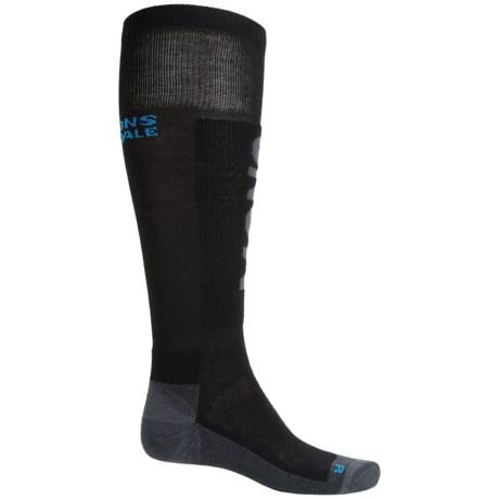 Mons Royale Tech Snow Ski Socks - Merino Wool, Over the Calf (For Men)