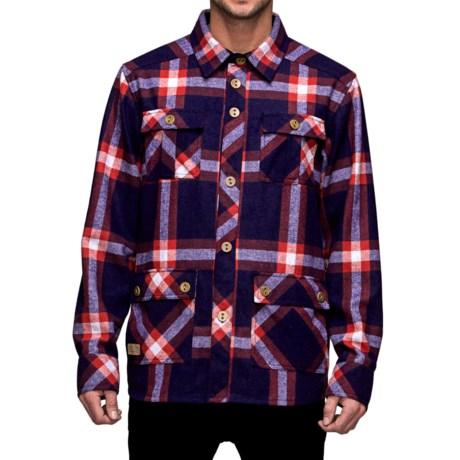Mons Royale Mountain Shirt - Merino Wool Blend, Long Sleeve (For Men)