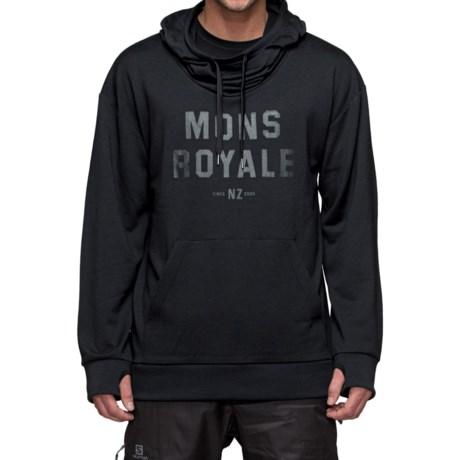 Mons Royale Hoodie - Merino Wool (For Men)