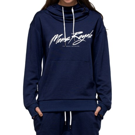 Mons Royale Hoodie - Merino Wool (For Women)