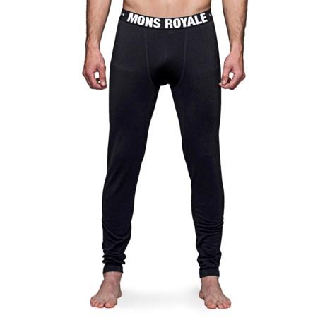 Mons Royale Base Layer Bottoms - Merino Wool (For Men)