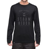 Mons Royale Riders Base Layer Top - Merino Wool, Long Sleeve (For Men)