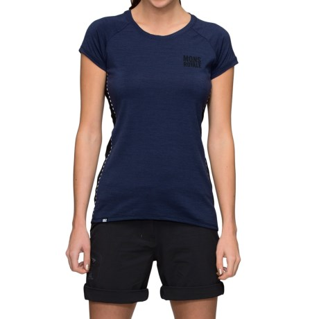 Mons Royale Tech Base Layer Top - Merino Wool, Short Sleeve (For Women)