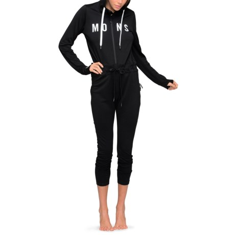 Mons Royale Monsie Icon Base Layer Union Suit - Merino Wool, Hooded, Long Sleeve (For Women)