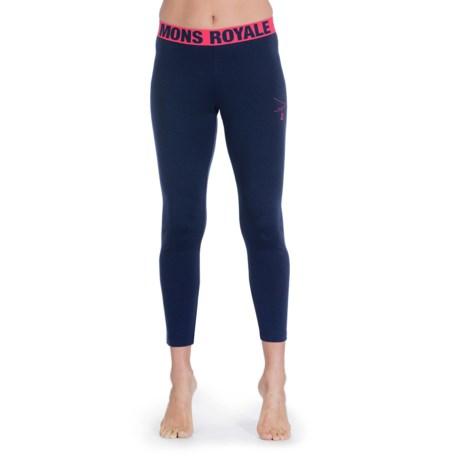 Mons Royale Base Layer Bottoms - Merino Wool (For Women)