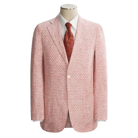 Isaia Three-Button Washed Linen Sport Coat - Linen (For Men)