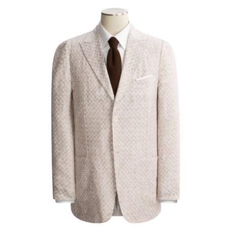 Isaia Washed Linen Sport Coat (For Men)