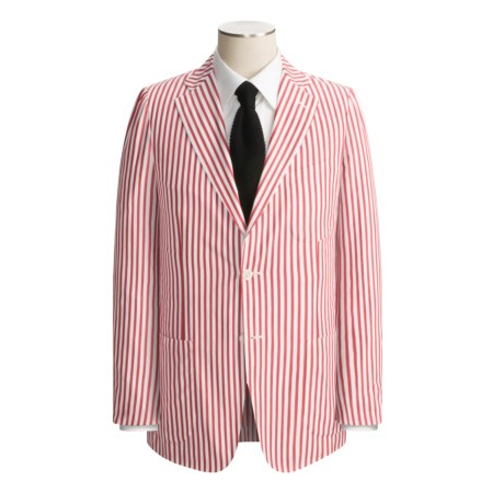 Isaia Patch Pocket Sport Coat (For Men)