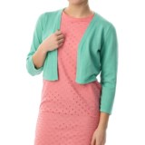 Chetta B Rayon Knit Shrug - 3/4 Sleeve (For Women)