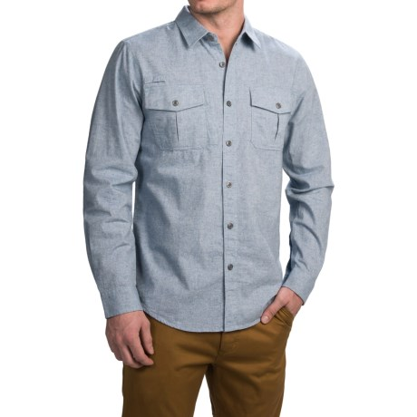 Gramicci Joe Canvas Work Shirt - Long Sleeve (For Men)