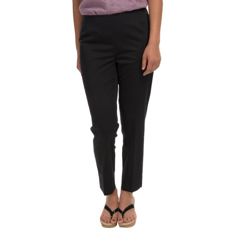 Lafayette 148 New York Twill Ankle Pants - Cotton-Sateen (For Women)