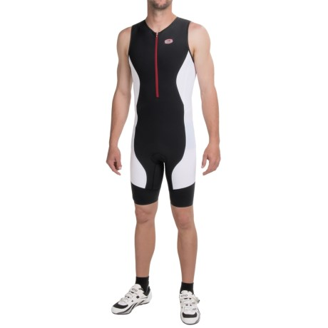 SUGOi RS Tri Suit - Zip Neck, Sleeveless (For Men)