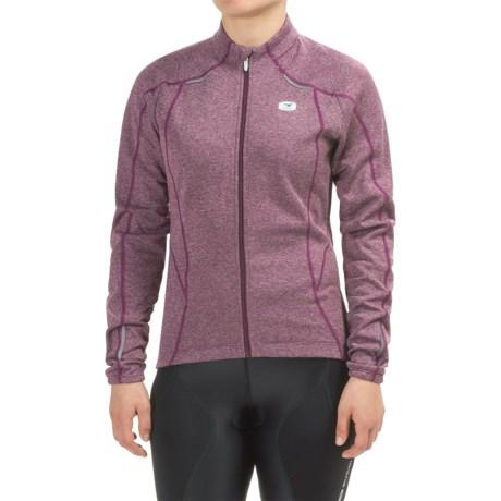 SUGOi Hotshot Cycling Jersey - Full Zip, Long Sleeve (For Women)