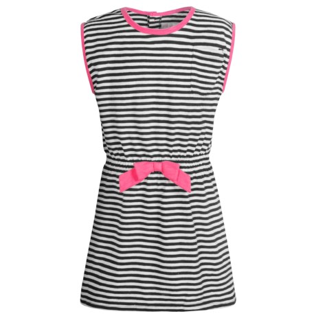 Pink Platinum Jersey Swimsuit Cover-Up Dress - Short Sleeve (For Big Girls)
